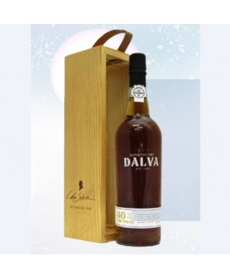 C Da Silva Dalva 40 Years Old White Vintage Port with Wine Gift Box