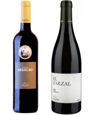 Bodegas Emilio Moro Finca Resalso and El Zarzal - Bundle of 2