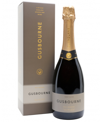 Gusbourne Brut Reserve 2015 with Wine Gift Box