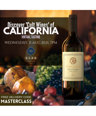 """.Masterclass : Discover """"Cult Wines"""" of California"""