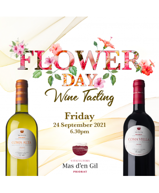 .Masterclass : Flower Day Wine Tasting