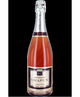 Champagne Chapuy Rose Brut Tradition N.V