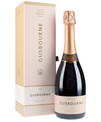 Gusbourne Rosé 2015 with Gift Box