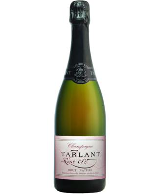 Champagne Tarlant Rose Zero Brut Nature N.V