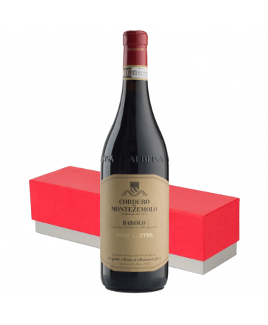 Cordero Di Montezemolo Barolo Monfalletto with Wine Gift Box